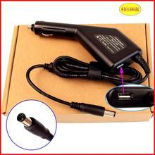 Ноутбук DC Мощность автомобильный адаптер Зарядное устройство 19.5 В 3.34a 65 Вт+ USB Порты и разъёмы для Dell la65ns0-01 la65ns1-00 ha65ne1-00 ea65ne0-00