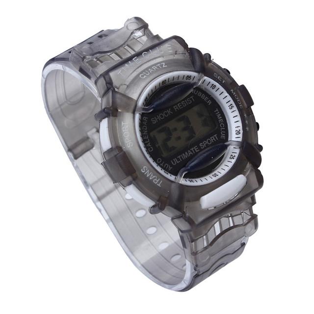 New Children Watches Cute Kids Watches Sports Watch for Girls boys Rubber Children's Digital LED Wristwatches reloj deportivo #D