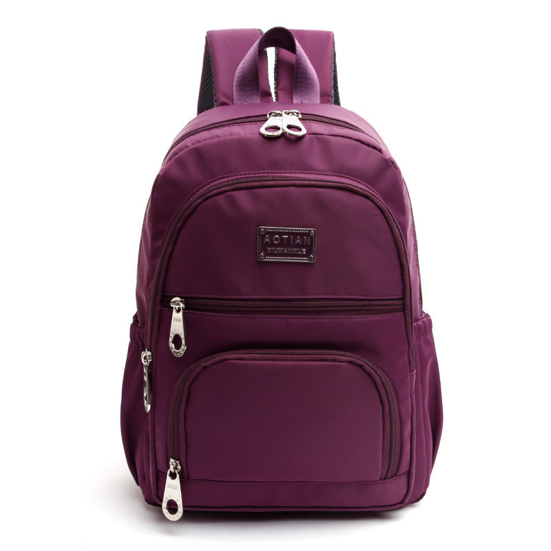 Preppy Style Women Backpack Waterproof Nylon Backpack 6 Colors Lady Women s Backpacks Female Casual Travel