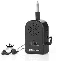 Vracht gratis plug play met distortion effect draagbare bass mini speaker geschikt voor elektrische gitaar bas kleine luidspreker AMP