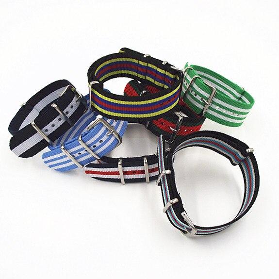 Купить с кэшбэком New color  -  Wholesale 10PCS/lots High quality 22MM Nylon Watch band NATO straps waterproof watch strap nato strap - 40302