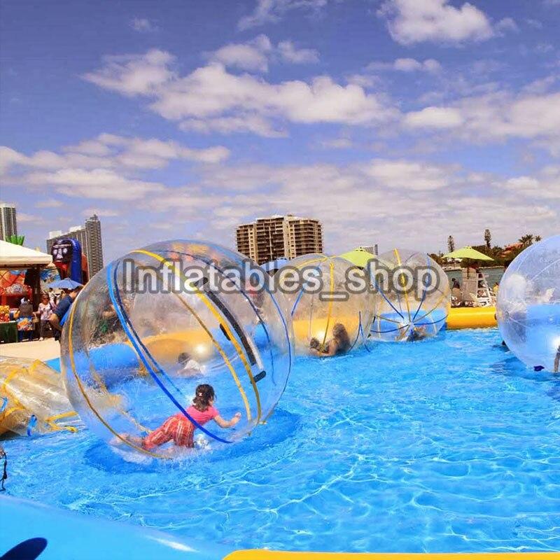 Jouet balle balle anti stress gonflable eau marche balle 1.0mm TPU bulle eau Zorb boule 2M diamètre livraison gratuite - 5