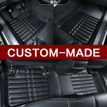 Special make 100% fit car floor mats for Ford Fiesta Mk7 Edge Escape Kuga Fusion Mondeo foot case full cover car-styling liners