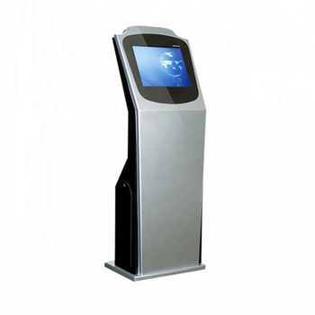 Credit card, Bill payment monitor interactive 17 inch touch Kiosk