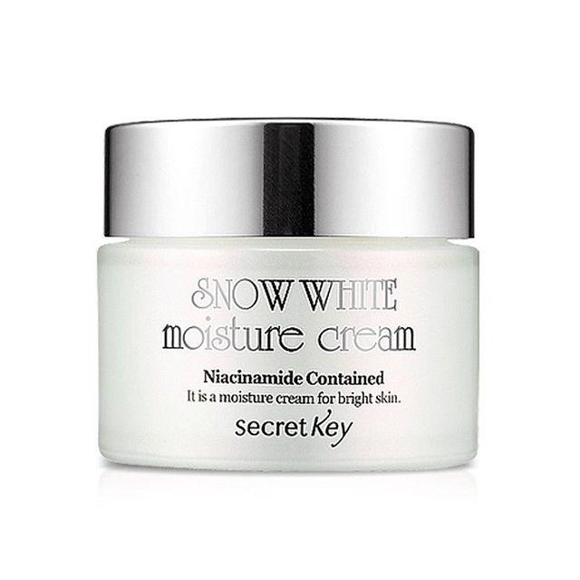 CHAVE SECRETA de Neve Branco Creme Hidratante 50g/Creme Facial Clareamento Da Pele Cuidados Com o Rosto Whitening hidratante anti-envelhecimento efeito