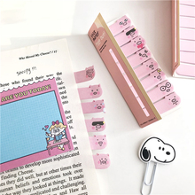 SIXONE Cute Pig Creative Sticky Note Korea Cartoon stationery N times sticker index bookmark kawaii office school supplies