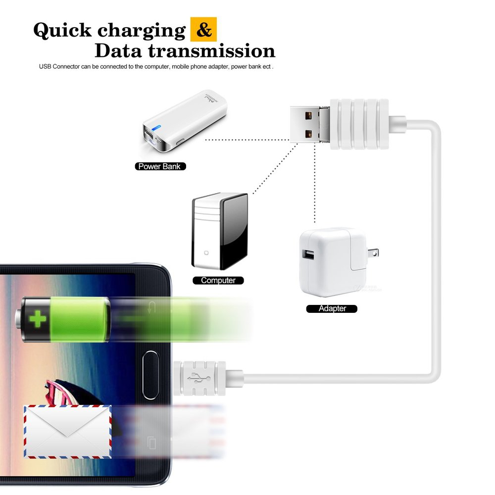 aliexpress com buy portable charging cable 2 in 1 usb otg cable aliexpress com buy portable charging cable 2 in 1 usb otg cable for smartphone transmission quick charging otg cable from reliable cable amp suppliers