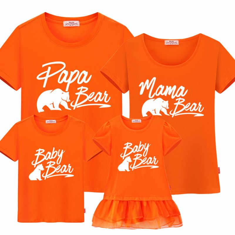 Сочетающаяся одежда для семьи Одежда для мамы и меня наряды для Отца и Сына хлопковые футболки 2020 мамы и я новый семейный образ