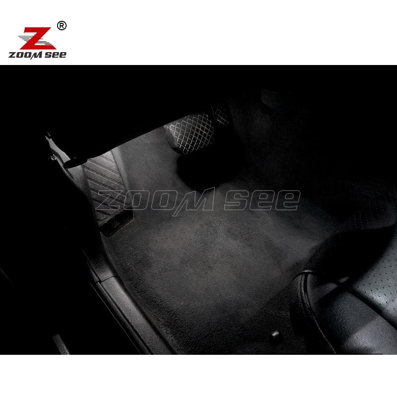 17pc x 100% Səhv pulsuz LED ampul Daxili Daxili günbəz xəritəsi - Avtomobil işıqları - Fotoqrafiya 6