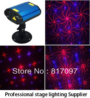 wholesale 250mw mini stage laser light red blue 650nm 450nm DPSS diode pumped solid state laser remote control disco lights ...