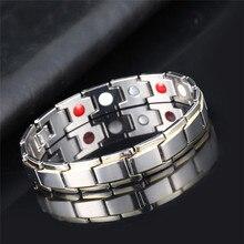 Для мужчин и женщин терапевтический энергетический лечебный браслет Здоровье Энергия магнитное здоровье уход ювелирные изделия браслеты браслет для похудения
