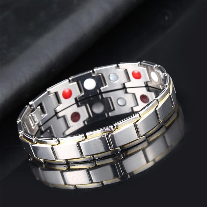 Браслет терапевтический для здоровья и здоровья, магнитный браслет для похудения для мужчин и женщин