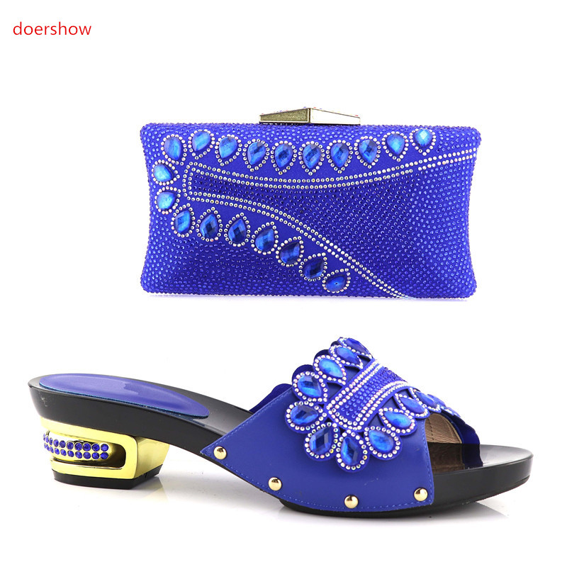 doershow Good Looking Italian Shoes With Matching Bags African Shoes and Bag To Match Wedding Shoes and Bag Sets party !HV1-48 beautiful italian shoes with matching bags to match new african shoes and matching bag sets for wedding doershow hvb1 49
