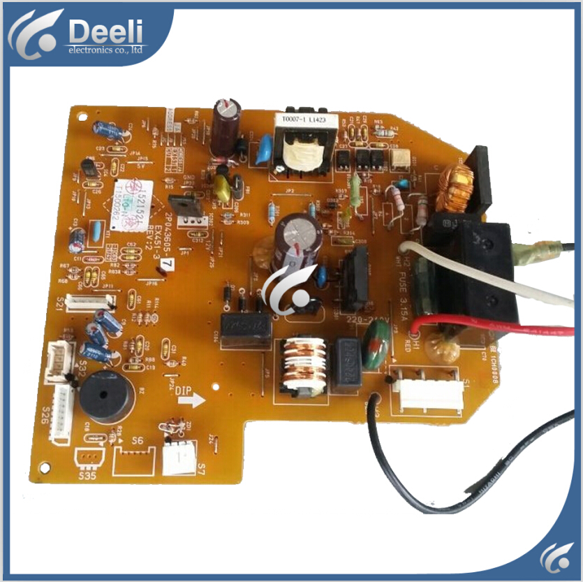95% new & original for air conditioning board 2P043605-7 EX451-3 control board Computer board массажная накидка gezatone amg 389