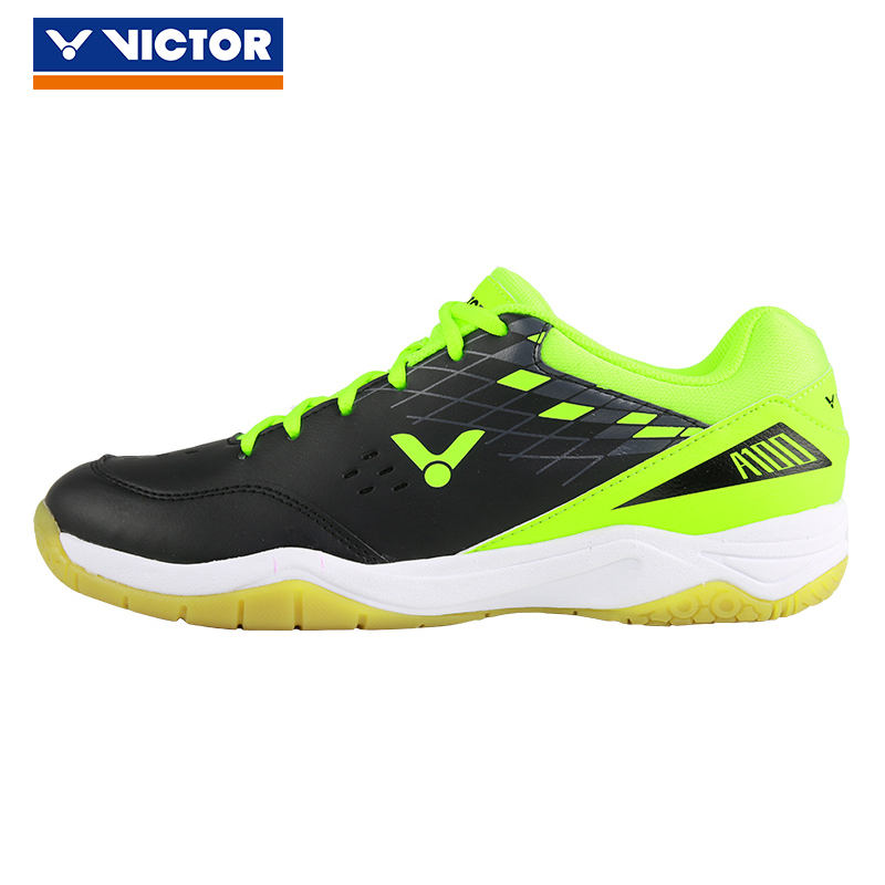 Victor Professional Badminton Shoes For Men Women Hard-wearing Athletic Sneaker Anti-Slippery Sport Tennis Shoe A100