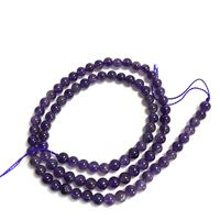 There are AB grade natural amethyst semi finished balls with a size of 12 mm for DIY Bracelet necklace with silver jewelry