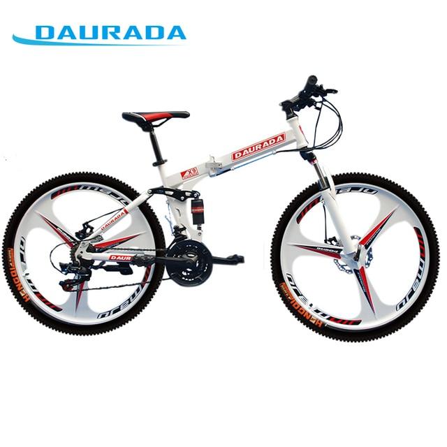 DAURADA 26 Pulgadas 21 Speed Stee Fixie Bicicletas De Doble ...