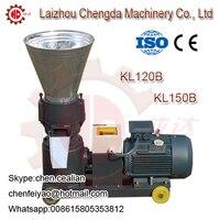 KL120B electric motor biomass animal feed pellet making mill machine