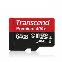 Genuine Original Transcend Micro SD Card 64GB 32GB 16GB High Speed 60MB S UHS I Premium