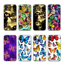 Aiboduo butterfly For iphone 6 6s Newest Super Cute Phone Cases for XS XR XSMAX 7 7plus 8 8plus 5 5s 6plus coque