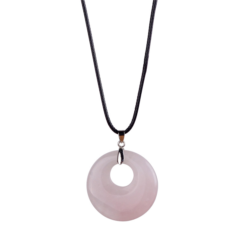 Natural Stones Pink <font><b>Crystal</b></font> <font><b>Raw</b></font> Material Natural Stone Minerals <font><b>Crystal</b></font> Hollow Gem <font><b>Pendant</b></font> Charm Jewelry Making Findings Lol image