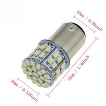10 шт 12V 24V супер яркий BA15S 1156 P21W 1157 Bay15d P21/5 Вт 50SMD 1206 12V 3020 50SMD Автомобильные светодиоды фонаря сигнала торможения Auto Lamps