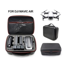 Waterproof Hardshell Handbag Carry Case for DJI MAVIC AIR Quadcopter Drone Body Remote Control and 3 Batteries