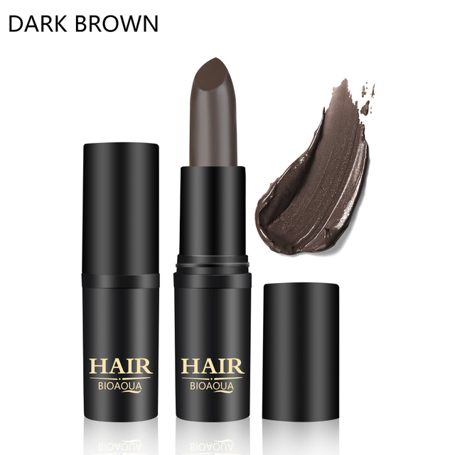 1PC Long-Lasting Black Brown Temporary Hair Dye Cream Mild Fast One-off Hair Color Pen Cover White Hair DIY Styling Makeup Stick 5