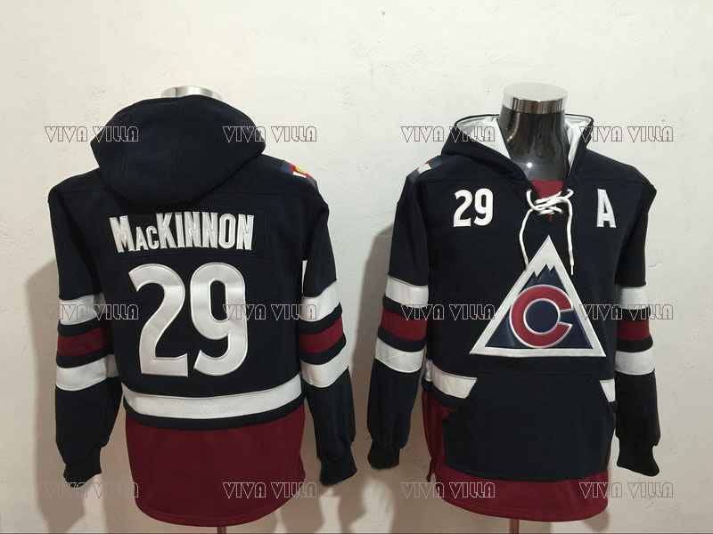 92 Gabriel Landeskog Hoodies Hockey Jersey 29 Nathan MacKinnon Stitched Hoodie Sweatshirts Ice Hockey Jersey S-4XL VIVA VILLA recoil starter cup hand recoil pull starter assembly fit for honda gx340 11hp gx390 13hp generator pump engine parts