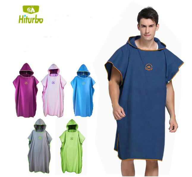 Mounchain Quick Drying Bathing Robe Waterproof Beach Diving Clothes Cloak Ultra-thin Swimwear Cover