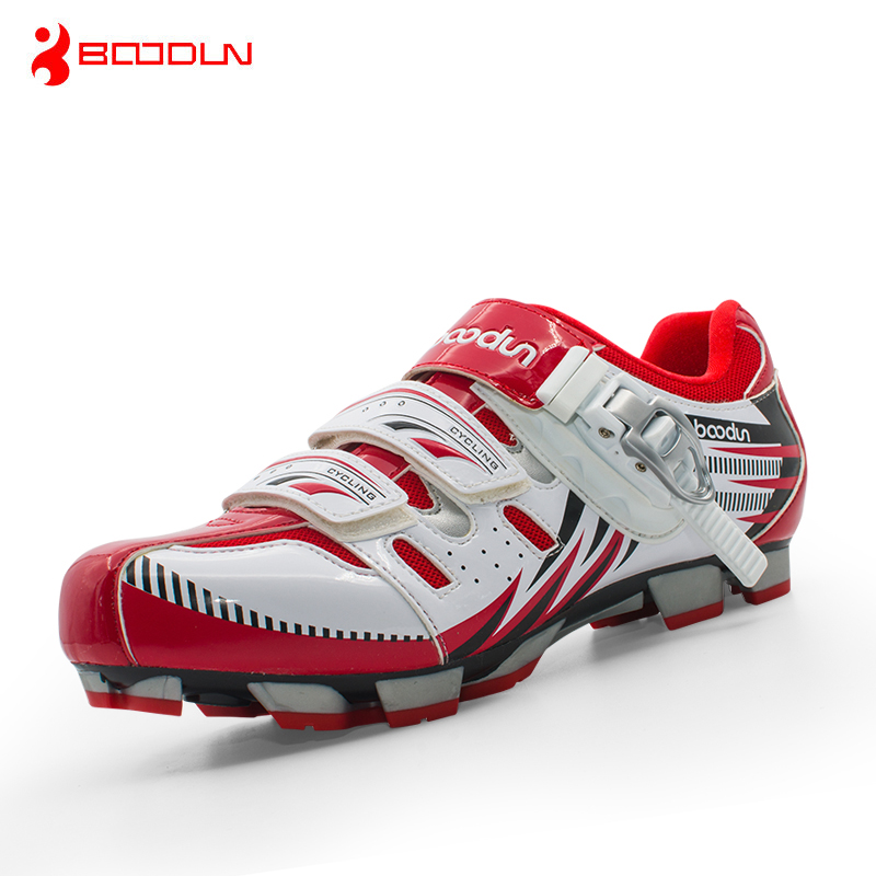 Boodun Professional Athletic Bicycle Shoes MTB Cycling Shoes Men Self Locking font b Bike b font