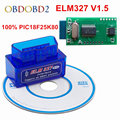 100% оборудования V1.5 супер мини ELM327 PIC18F25K80 Multi-Langugae 13 видов ELM 327 Bluetooth OBDII может-BUS для Android Крутящий момент/PC - фото
