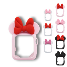 QIKEFANG Cute Butterfly For Apple Watch Series 3 2 1 38 mm 42 mm Cover Soft Silicone Case Full Protection Accessories