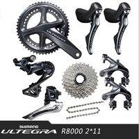 SHIMANO ULTEGRA UT R8000 2x11 22S Speed Road Bike Derailleur Kit Bike Transmission Kit Bike Parts Gearbox Kit Free Shipping