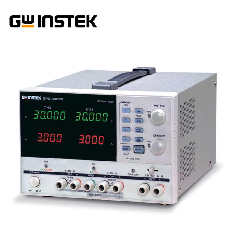 цена на Gwinstek GPD-4303S Programmable linear DC power supply 4 channel output 0-30V/0-3A Laboratory power supply Programmable