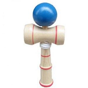Image 4 - Hohe Qualität Kid Kendama Koordinieren Kugel Japanisches Traditionelles Hölzernes Spiel Geschicklichkeit Pädagogisches Spielzeug