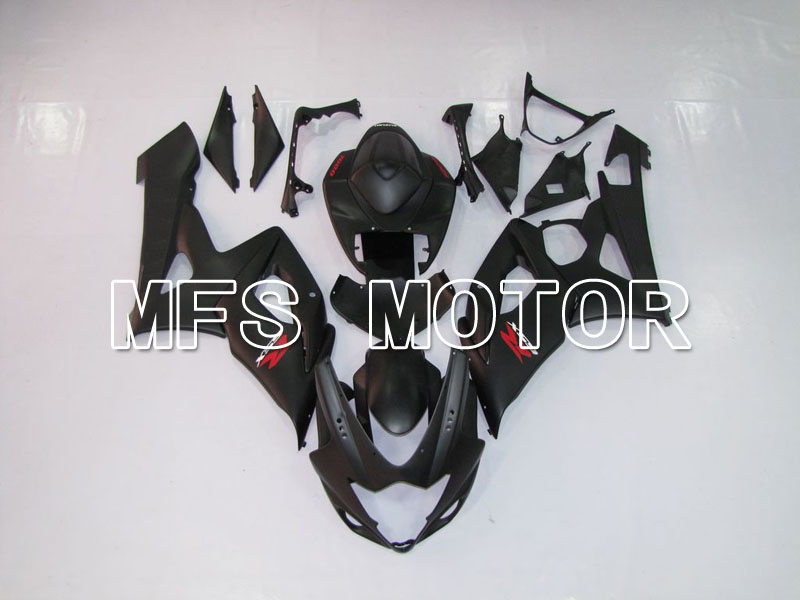 For Suzuki GSXR 1000 K5 2005 2006 Injection ABS Fairing Kits GSXR1000 K5 05 06 - Others - Black(matte) injection molding custom for 2005 suzuki gsxr 1000 fairings k5 2006 gsxr 1000 fairing 05 06 glossy black flat gray dw16