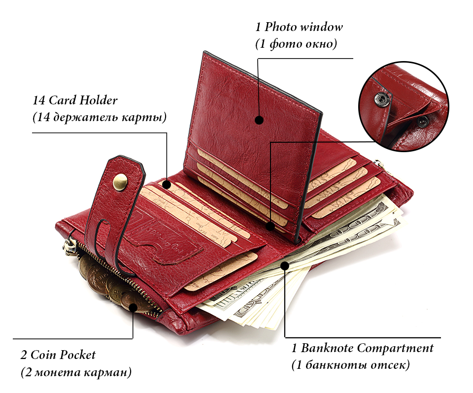 bolsa de moeda pequena walet portomonee senhora