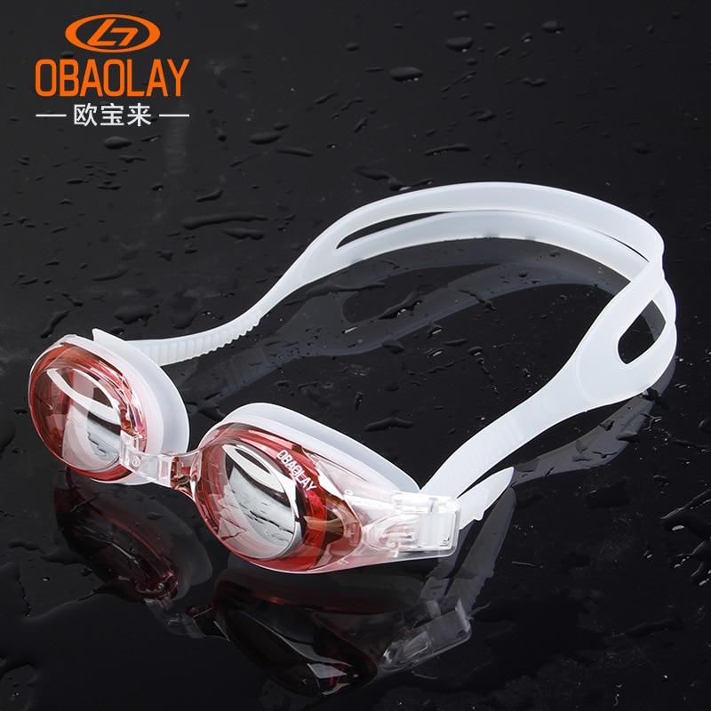 2018 Swimming Glasses Natacion Adult Prescription Myopia Swimming Goggles Swim Silicone Anti-fog Water Eyewear Glasses Mask