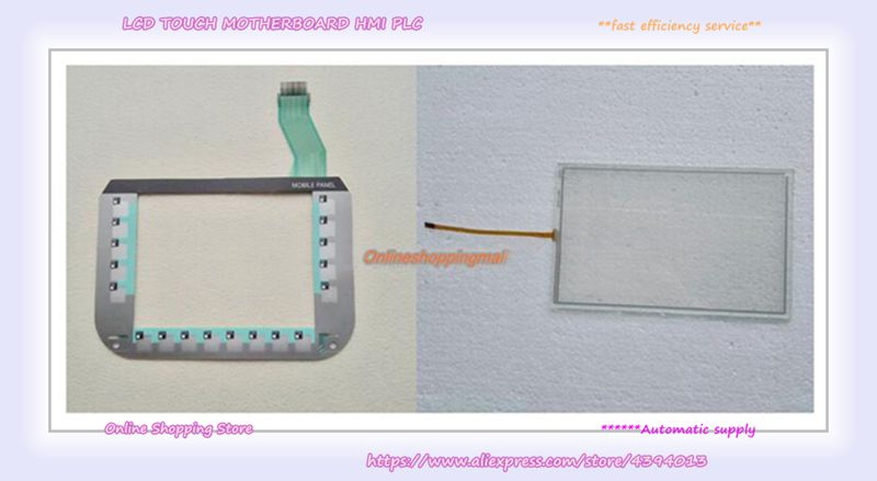 купить New Mobile Panel + film mask for 277 6AV6645-0CC01-0AX0 keyboard по цене 6837.15 рублей