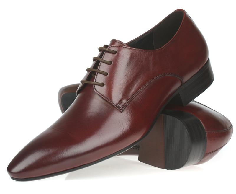 2a748e9acfe Serpentina azul/negro/marrón zapatos de boda hombres zapatos de negocios  zapatos de cuero genuino formal oxfords hombres zapatos de vestir en Zapatos  ...