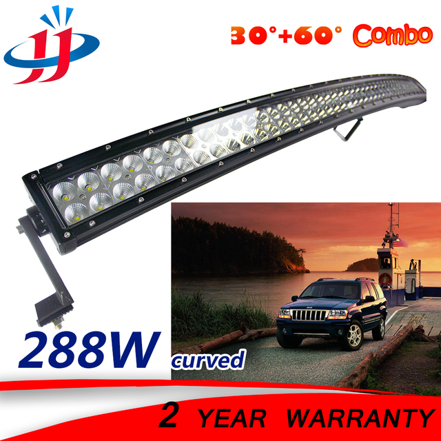 288w curved led light bar vehicles off road cars truck marine boat 288w curved led light bar vehicles off road cars truck marine boat yacht truck trailer aloadofball Gallery