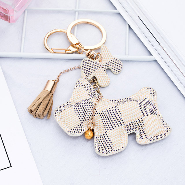 IPARAM fashion cute dog keychain
