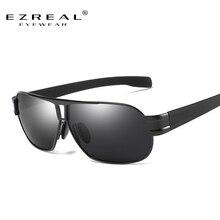 EZREAL Brand Aluminum Polarized Sunglasses Men Sports Sun Glasses Driving Glasses Mirror Goggle Eyewear Male Accessories 8516-2