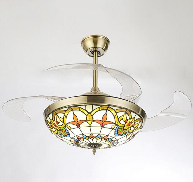 LED Plafond Ventilator Met Verlichting Afstandsbediening 110 220Volt ...