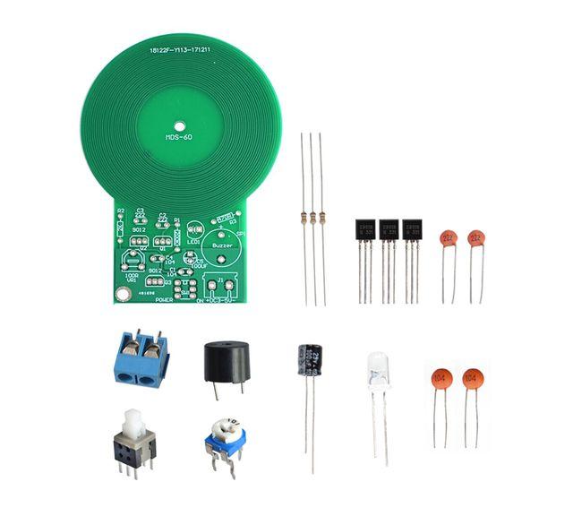 DIY Kit Metal Detector Kit Electronic Kit DC 3V-5V 60mm Non-contact Sensor Board Module Electronic Part Metal Detector DIY
