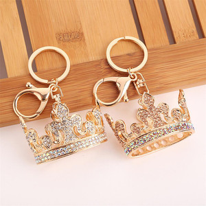 Round Metal Hanger Hook Holder Unique Folding Portable Fashion Table Hook 1Pcs Crystal Alloy Purse Handbag Bag(China)