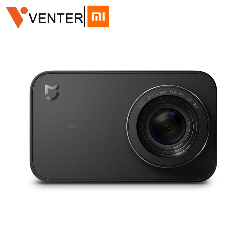 In Stock Global Version Xiaomi Mijia Mini Sport Action Camera 4K Ambarella A12S Ramcorder Video Record IMX317 Digital Cameras(China)