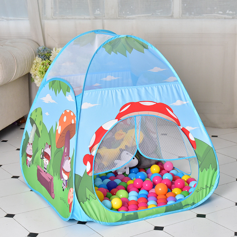Children/'s Tent Kids Cute Large Play House Outdoor Hut Funny Ball Pool Toy