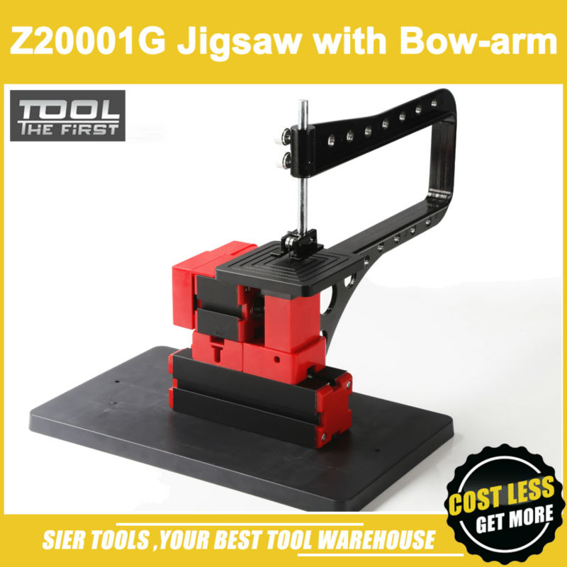 Frete grátis! / Z20001g Mini arco - braço cabeça / DIY jig saw / 24 w, 20000 rpm bowarm serra / Mini instrucional jig - vi